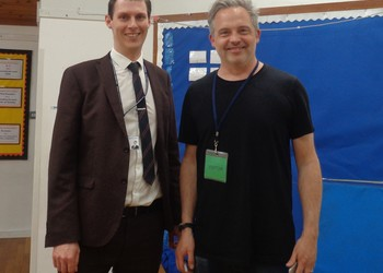 Orchard Academy welcomes two fantastic authors!
